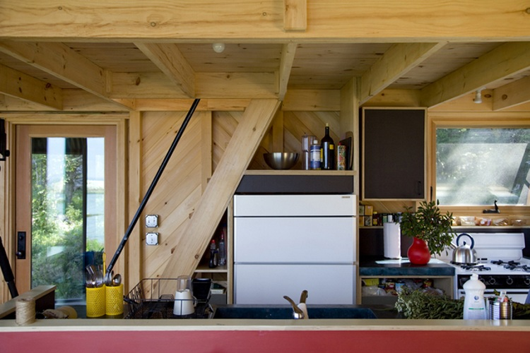 punch off the grid home design. Design Tiny Off Grid Cabin in Maine is Completely Self Sustaining