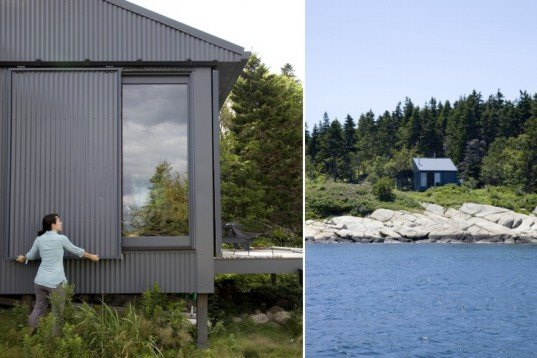 Do It Yourself Cabin Plans Free Small Cabin Plans Small: Maine Coast Retreat « Inhabitat