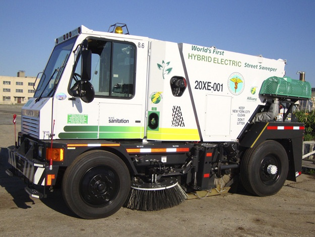 Allianz The Worlds First Hybrid Electric Street Sweeper - Nyc street sweeping map