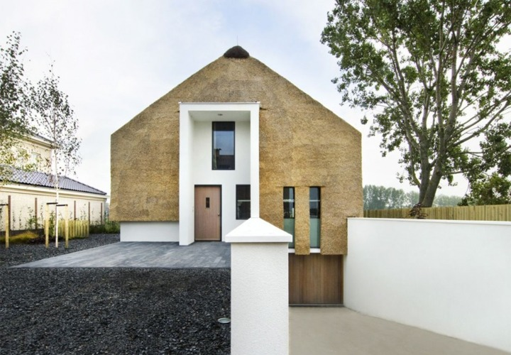 Modern Dutch Thatch House Links With