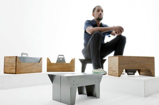 peera toolbox, multifunctional toolbox, marlon darbeau, Global Africa Project, multifunctional furniture, convertible furniture, sustainable design, green design