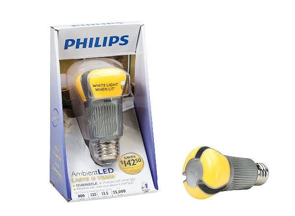 Philips' Ultra Efficient AmbientLED Bulb Now Available in