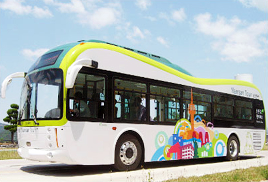 bus, eco friendly, EcoFriendly, electric bus, electric vehicle, ElectricBus, ElectricVehicle, ev, green, public transportation, seoul, Seoul Metropolitan Government, south korea, SouthKorea