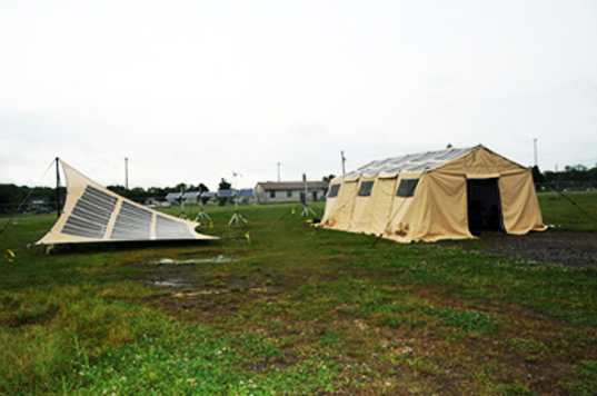 The tents that the US Army is developing have been dubbed the Power Shade the TEMPER Fly and the QUADrant. They all come in different sizes with different ...  sc 1 st  Inhabitat & U.S. Military Developing Solar-Powered Tents | Inhabitat - Green ...