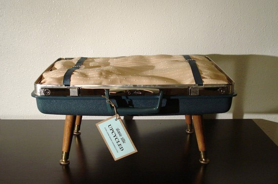 Purrrfect Cat Beds Made from Vintage Suitcases | Inhabitat - Green ...