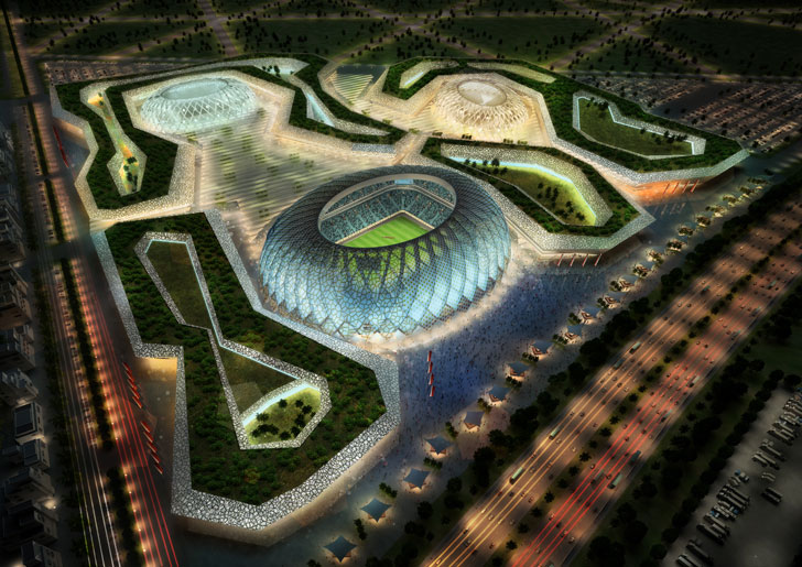 And picture of the world cup 2022 fifa game stadium construction