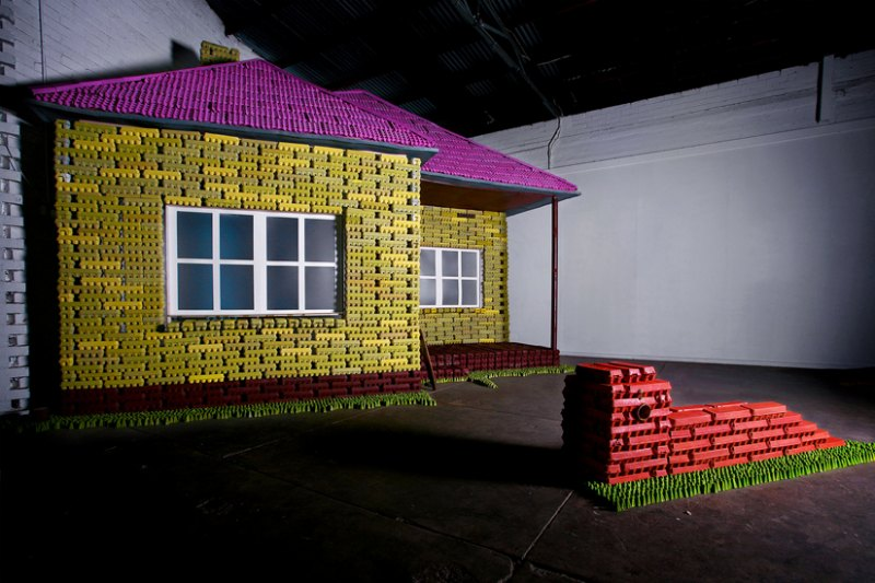 Australian Studio Builds Home Out Of Recycled Egg Cartons
