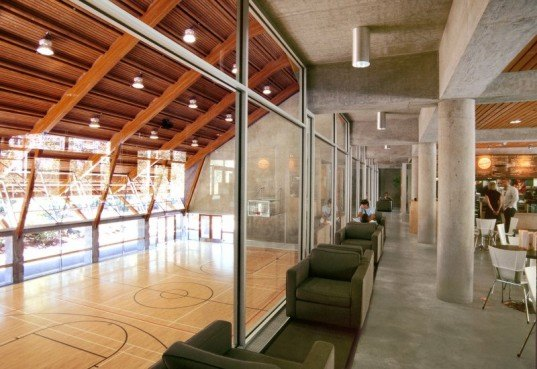 Gleaneagles Community Center, patkau architects, vancouver, community center, thermal mass, energy efficient building, green building, sustainable architecture