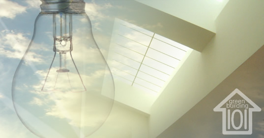 Eco friendly lighting, green lighting, daylighting, skylights, skylighting, solar tubes, daylight, natural light