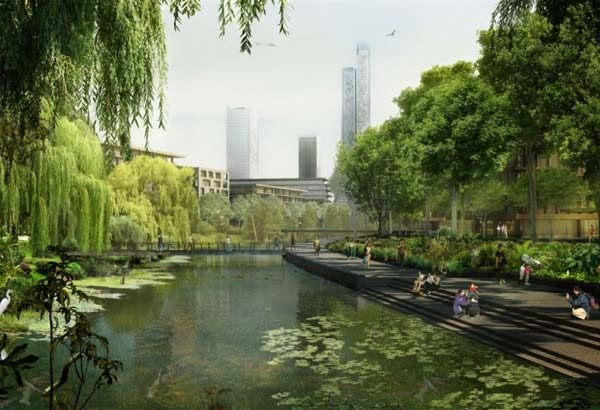 som architects, som green tech city, green tech city hanoi vietnam, green tech city vietnam, eco-city vietnam