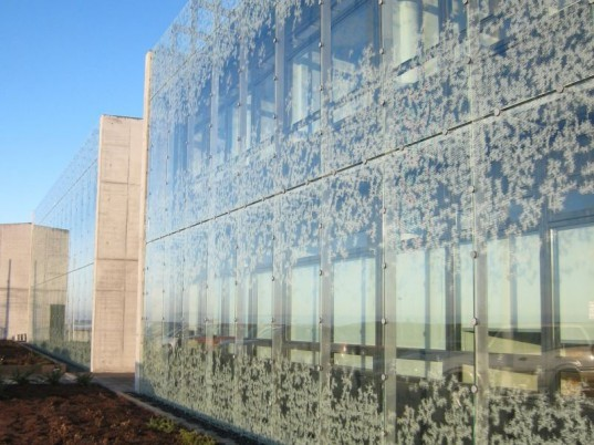 Iceland Institute of Natural History, ARKÍS, arkis, iceland, fritted glass, green design, green building, sustainable architecture