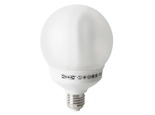 ikea, incandescent light bulbs, cfl light bulbs, ikea stops selling incandescent bulbs, where to buy cfls, where to buy compact=