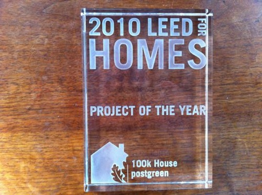 LEED Platinum homes, LEED Platinum points, LEED for Homes, LEED House,Habitat for Humanity of Sacramento, Postgreen, 100K House, LEED for Homes Awards, LEED for Homes Award, Eco homes awards, LEED awards, USGBC awards, green homes, green building awards, green homes building, low energy home, zero energy home, HERS,