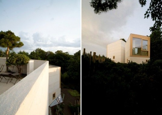 Maison L, Christian Pottgiesser, france, green renovation, home extension, concrete construction