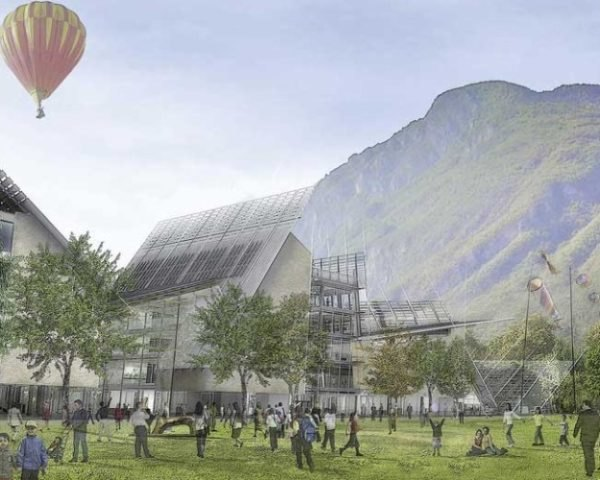 Museum of Sciences, MUSE, trento, italy, renzo piano, eco museum, sustainable building, green architecture