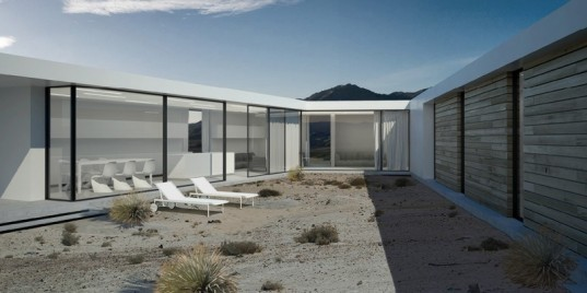 desert houses, platform for architecture + research, mojave desert, eco community, solar passive design, sustainable architecture