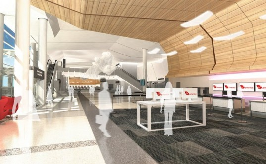 sfo t2, san francisco airport, green renovation, gensler, turner construction, eco airport