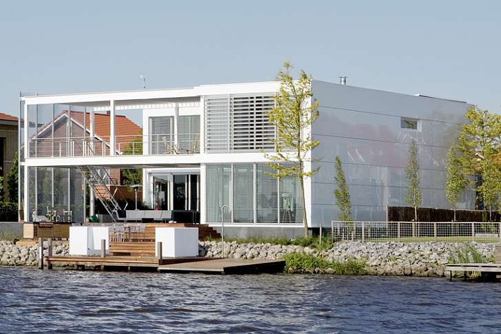 Superior Lightweight Steel Study House II Shines On The Dutch Waterscape Steel Study  House II U2013 Inhabitat   Green Design, Innovation, Architecture, Green  Building Photo Gallery