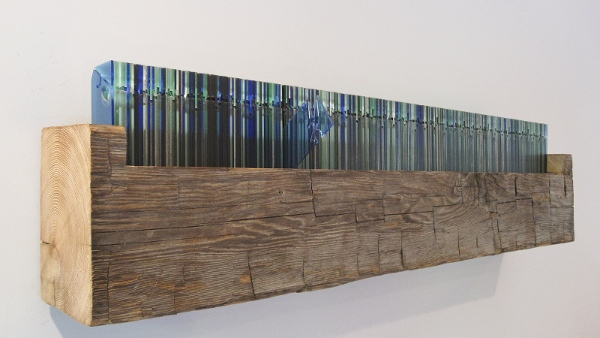 Perpetual Calendar Made of Salvaged Timber Doubles as Modern Wall ...