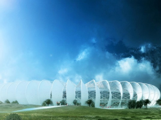 Grand Stade de Casablanca, soccer stadium, football statdium, morocco, green design, sustainable architecture