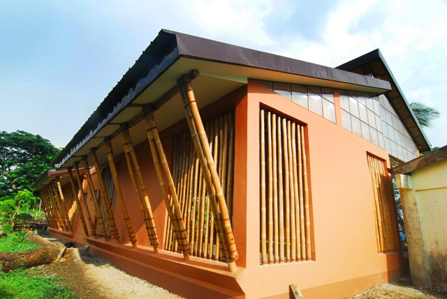 First Full Bamboo School in Philippines Built in Camarines ...
