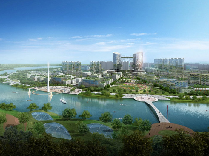 Tianjin Eco City Is A Futuristic Green Landscape For 350000 Residents