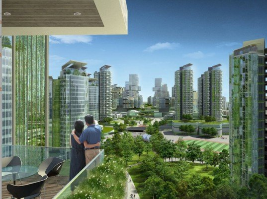 surbana urban planning group,  Tianjin Eco-City, tianjin, eco city, sustainable city, green architecture, green design, green city, china, global development, wind power, solar power, urban density,  Tianjin Economic-Development Area