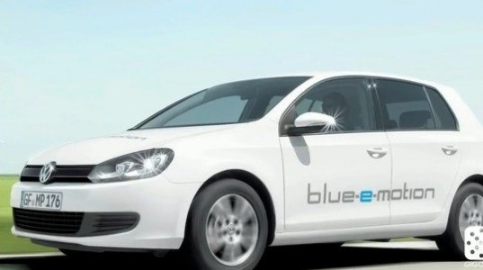 green overdrive, gigaom tv, volkswagen blue-e-motion golf, vw electric golf, green transportation, alternative transportat