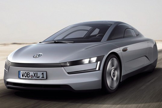 electric cars, Electric Vehicles, new 1-liter concept car, Qatar Motor Show, Volkswagen 1 liter concept, Volkswagen green concept, VW 1 liter car, VW L1, VW XL1