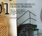 Inventory Series 01: An Exhibit Exploring Slow Design and Limited Edition Items