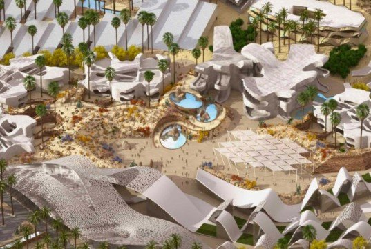 BOOM, eco community, palm springs, master planned community, green architecture