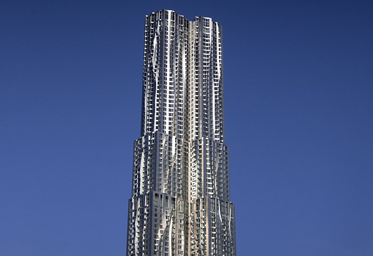 Frank Gehry S Spruce 8 Tower In Ny Will Not Be Seeking