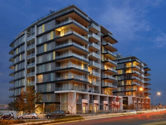 Dockside Balance, dockside green, perkins + will, leed platinum, green development, victoria
