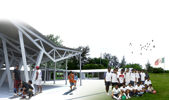 Gamechanger competition, mexico, sports development, nike, architecture for humanity, san pedro