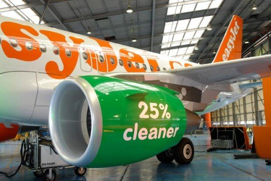 uk airline easyjet, easyjet airline, easyjet aircraft coating, tripleo aircraft coating, nano-technology aircraft coating