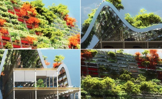 Kubota & Bachmann,Kaohsiung Port & Cruise Center, Kaohsiung architecture, green architecture, eco architecture, green design, sustainable design, kubota bachmann, green roof, vegetative carpet, planted roof, taiwan architecture