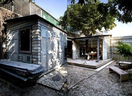 Pim Guesthouse, all(zone), bangkok, reclaimed wood, salvaged wood, recycled materials, thai sala