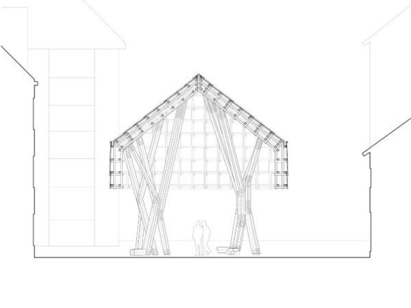 The Lantern Pavilion Sustainable Timber Meets Contemporary Architecture