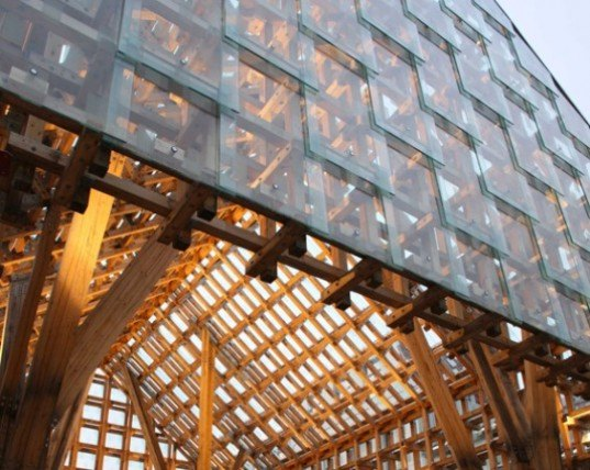the lantern pavilion, awp, atelieroslo, sandnes, norway, sustainable timber, glass, pavilion