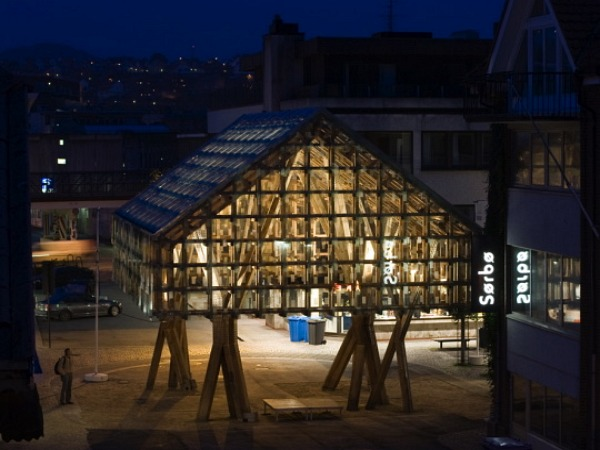 The Lantern Pavilion Sustainable Timber Meets