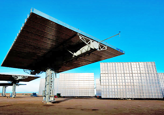 solar power, worlds most efficient solar array, gallium solar, utility solar, solar field, concentrated solar, Amonix, 7700 Concentrated Photovoltaic, NREL solar, green power