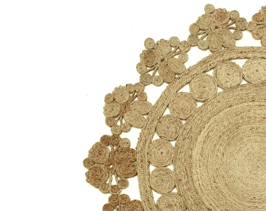 Armadillo&Co, The Flower Collection, hemp rugs, natural carpet, KALEEN, eco design, eco interiors, eco flooring, green furnishings, sustainable design, green design