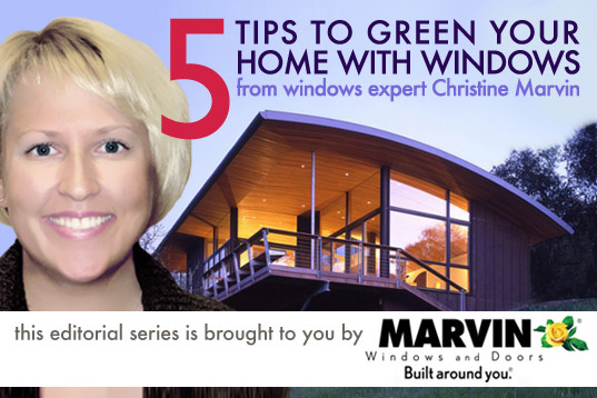 5 Tips on How to Use Windows to Green Your Home, 5 Tips to Green Your Home With christine marvin, christine marvin,