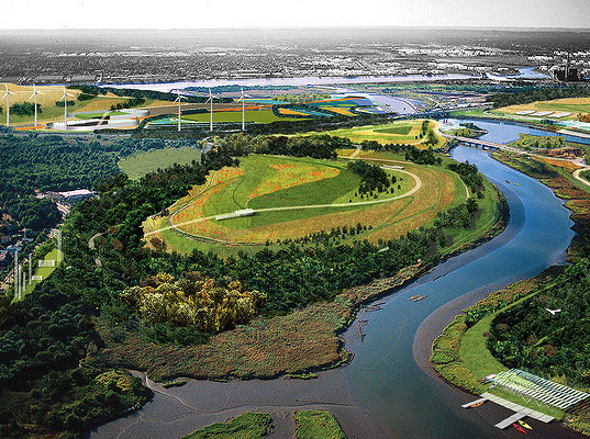 Staten Island Landfill Turned Into Eco Park 3 Times The
