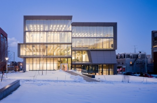 Green Creative arts center, LEED arts center, Brown university green building, LEED gold arts, Green Art collage, arts center daylight, green design eco arts center, s