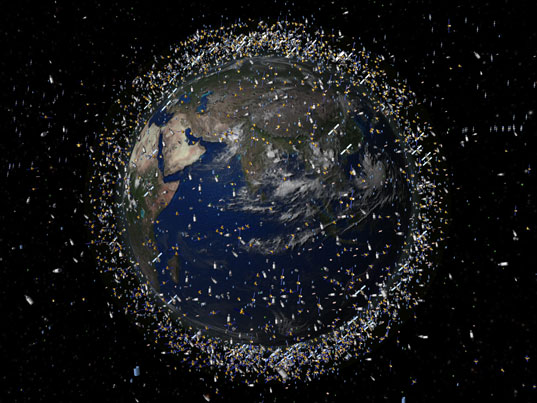 space junk, sustainable design, JAXA, japanese space agency, fishing nets, space waste, nitto seimo, eco deign, green design