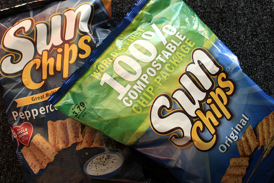 Sunchips Unveils New Quieter 100 Compostable Bags