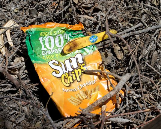 SunChips, Frito-Lay SunChips, compostable SunChips bag, biodegradable SunChips bag, quieter compostable SunChips bag