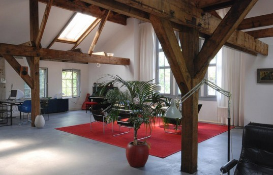 factory loft, converted factory, refurbished factory, renovated factory, adaptive reuse, zecc, zecc architects, utrecht architecture, residential loft, green design, eco design, sustainable design, green architecture, reclaimed materials, renovation, green loft, renovated loft
