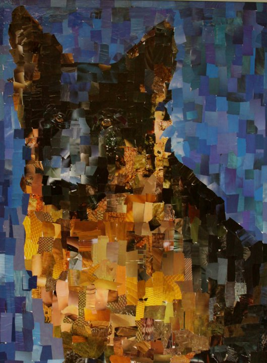 Artist Samuel Price Creates Cool Pet Collage Art from Recycled ...